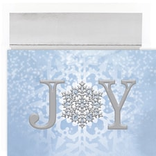 Joy Snowflake Holiday Collection Boxed Holiday Cards