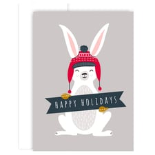 Snow Bunny Holiday Collection Boxed Holiday Cards