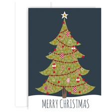 Delightful Tree Holiday Collection Boxed Holiday Cards