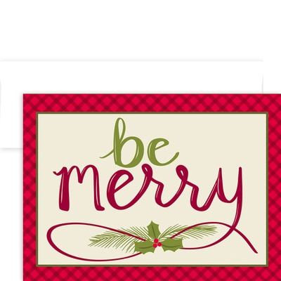 Be Merry Holiday Collection Boxed Holiday Cards