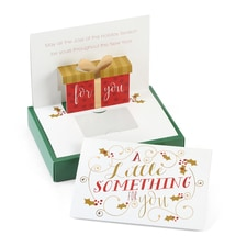 A Little Something Gift Greetings - Gift Card Holder