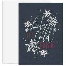 Baby It's Cold Holiday Collection Made in USA Boxed Holiday Card