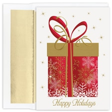 Big Holiday Pressent Holiday Collection Boxed Holiday Card