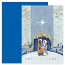 Nativity Beneath The Star Holiday Collection Boxed Holiday Card