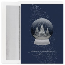 Snow Globe Holiday Collection Boxed Holiday Card