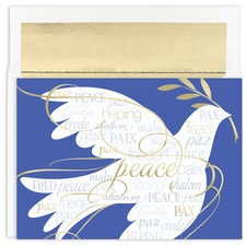 International Peace Holiday Collection Boxed Holiday Card