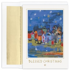 Blessed City Holiday Collection Boxed Holiday Card