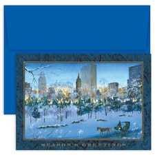 City Park Ride Holiday Collection Boxed Holiday Card