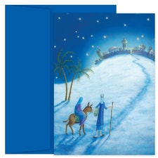 His Love at Christmas Hollyville Boxed Holiday Card