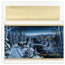 Sleigh Ride Holiday Collection Boxed Holiday Card