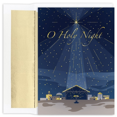 O Holy Night Holiday Collection Boxed Holiday Card