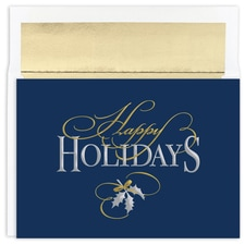 Happy Holidays Tradition Holiday Collection Boxed Holiday Card