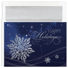 Holiday Snowflake Holiday Collection Boxed Holiday Card
