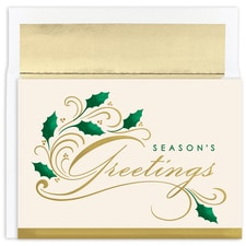 Vintage Greetings Holiday Collection Boxed Holiday Card