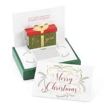 Merry Christmas Gift Gift Greetings - Gift Card Holder