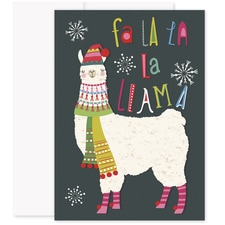 Fa La Lama Laughter & Joy Boxed Holiday Card