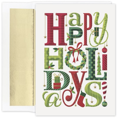 Happy Everything Holidays Holiday Collection Boxed Holiday Card