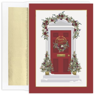 Christmas Doorway Holiday Collection Boxed Holiday Card