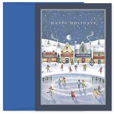 Holiday Village Holiday Collection Boxed Holiday Card