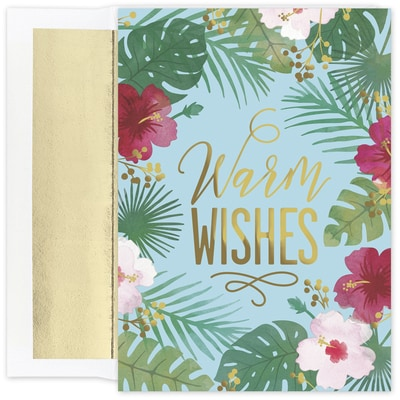 Palm Wishes Warmest Wishes Boxed Holiday Card