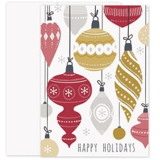 Hanging Ornaments Laughter & Joy Boxed Holiday Card
