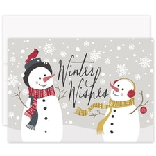 Snow Friends Laughter & Joy Boxed Holiday Card
