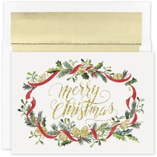 Merry Pines Holiday Collection Boxed Holiday Card