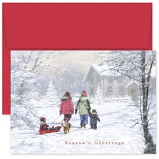 Winter Wonderland Holiday Collection Boxed Holiday Card