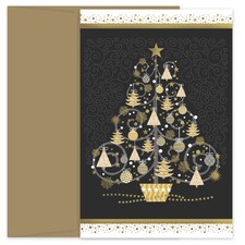 Tree of Trees Holiday Collection Petites Boxed Holiday Card