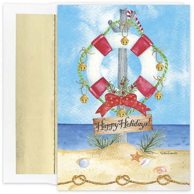 Preserve The Holidays Warmest Wishes Boxed Holiday Card