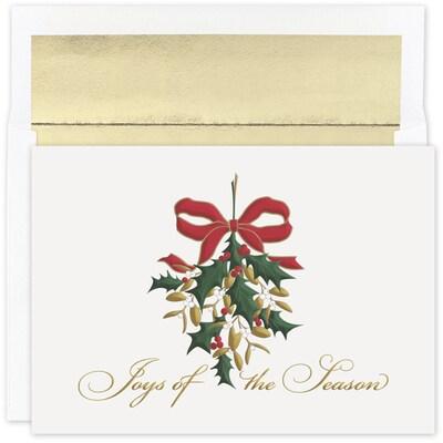 Mistletoe Joy Holiday Collection Boxed Holiday Card