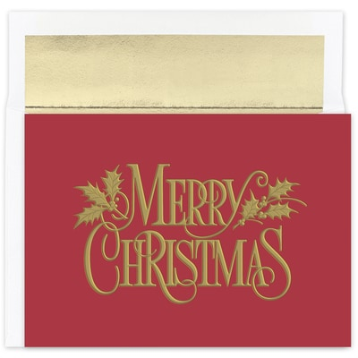 Christmas Nostalgia Holiday Collection Boxed Holiday Card