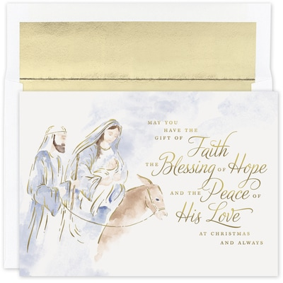 Blessing of Hope Holiday Collection Boxed Holiday Card