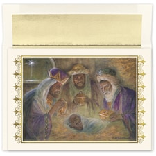 Wisemen Seek Him Holiday Collection Boxed Holiday Card
