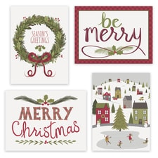 Merriest Holiday Assortment Boxed Holiday Card