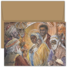 Come Adore Him Violet Hewitt Chandler Boxed Holiday Card