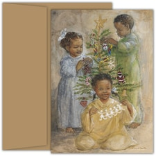 Beautiful Moments Violet Hewitt Chandler Boxed Holiday Card