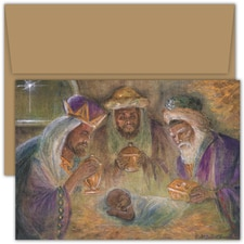 Blessed Christmas Violet Hewitt Chandler Boxed Holiday Card