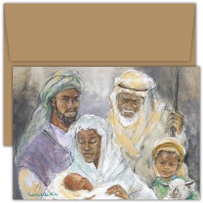Wonder of His Birth Violet Hewitt Chandler Boxed Holiday Card
