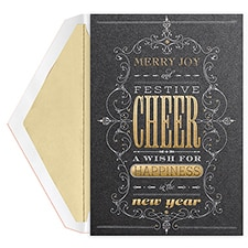 Festive Cheer Century Boxed Holiday Card