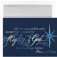 Prince Of Peace Century Boxed Holiday Card