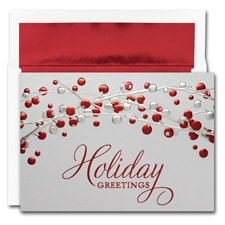 Holiday Berries Century Boxed Holiday Card