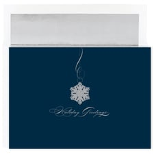 Single Snowflake Century Boxed Holiday Card