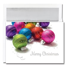 Vivid Ornaments Century Boxed Holiday Card