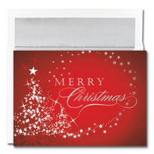 Merry Christmas Sparkles Century Boxed Holiday Card
