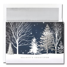 Christmas Treeline Century Boxed Holiday Card
