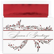 Greetings Berries Century Boxed Holiday Card
