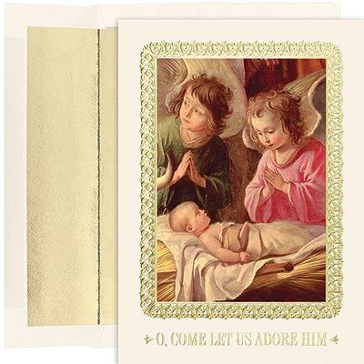 Adoration Of The Magi Century Boxed Holiday Card