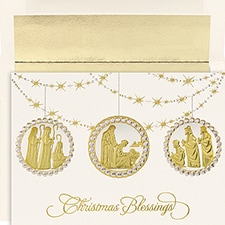 Holy Ornaments Century Boxed Holiday Card