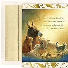 All Creatures  Century Boxed Holiday Card